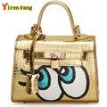 Sacos de mulheres mensageiro dólar preço bolsas de luxo mulheres sacos designer de olhos mulher sacos de 2016 saco de embreagem bolsa de moda bolsas