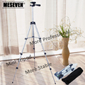 MESEVEN New Foldable Mini Tripod with Rocker Arm Table Tripod 4 Sections for Travel Party Photography universal DV Phone Camera