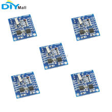 5pcs/lot I2C RTC DS1307 AT24C32 Real Time Clock Module without battery for Arduino AVR ARM PIC SMD 100 pcs ds1307 dip 8 1307 64 x 8 serial i2c real time clock