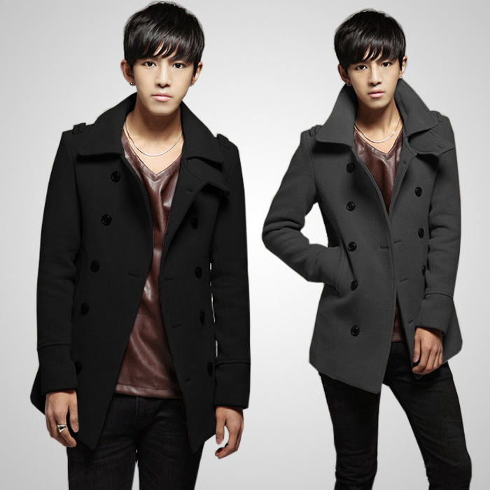 PASATO Mens Autumn Winter New Hot Zipper Sportswear Patchwork Jacket Long Sleeve Coat Fashion Clothes Featured