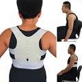 Unisex Salud XXL tamaño Correcteur Turmalina Cinturón Corrector de Postura Hombro Volver Magnética Postura De La Espalda Ajustable