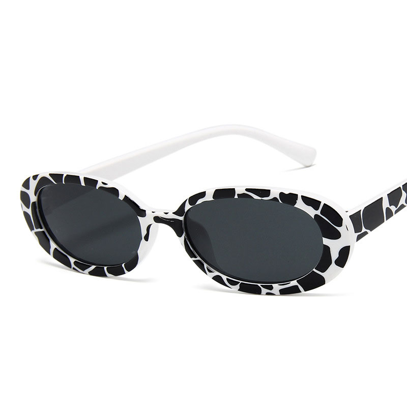 XIWANG Women Sunglasses Retro Round Cow Colour Lightweight Comfortable Personal Sunglasses Small Frame Sunglasses For Women 2019 1