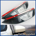 Side Mirror Rain Snow Guard Sun Visor vent 2PCS/SET For NISSAN TIIDA 2011 2012