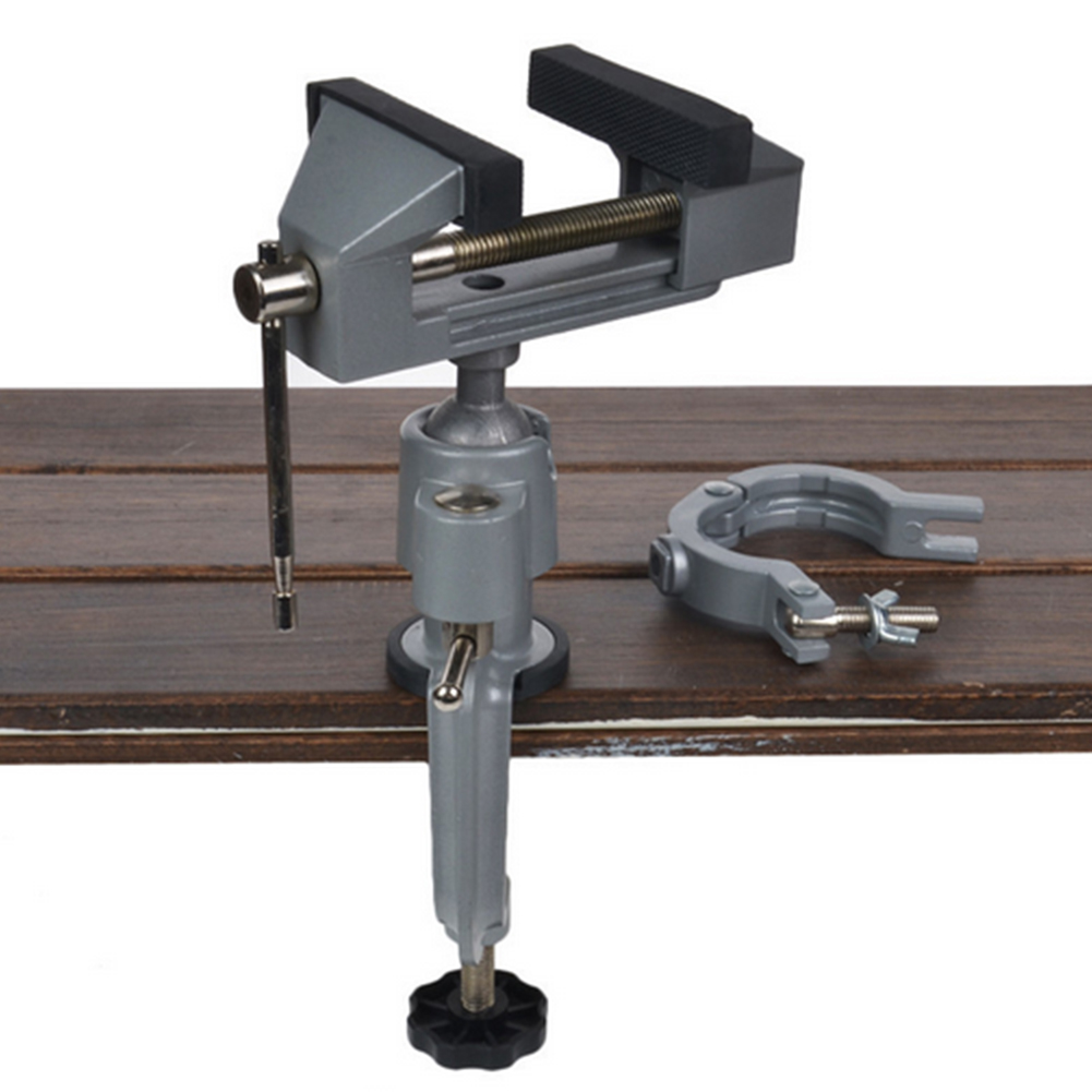 Table Vise Bench Vice Alloy 360 Degree Rotating Universal Clamp Units Vise Mini Precise Vise Aluminium alloy High Quality #LO  цены