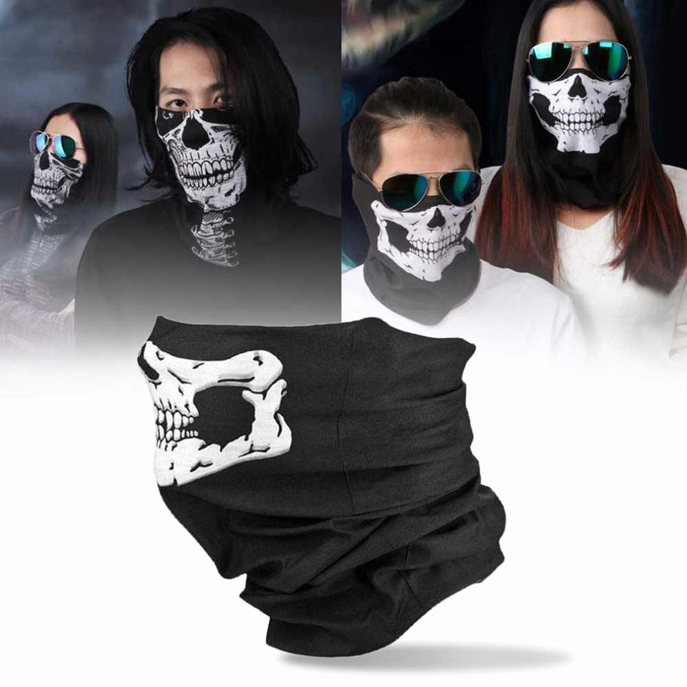 High Quality Skull Balaclava Traditional Face Head Mask Gator Black bike skateboard Hood Costume Party Headgear