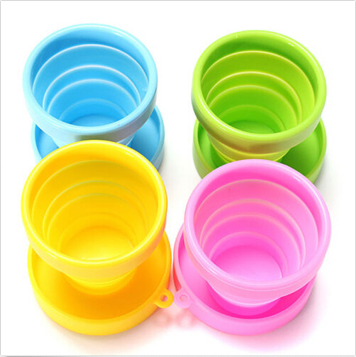 ᗛnew Portable Silicone Retractable Folding ᗐ Cups Cups