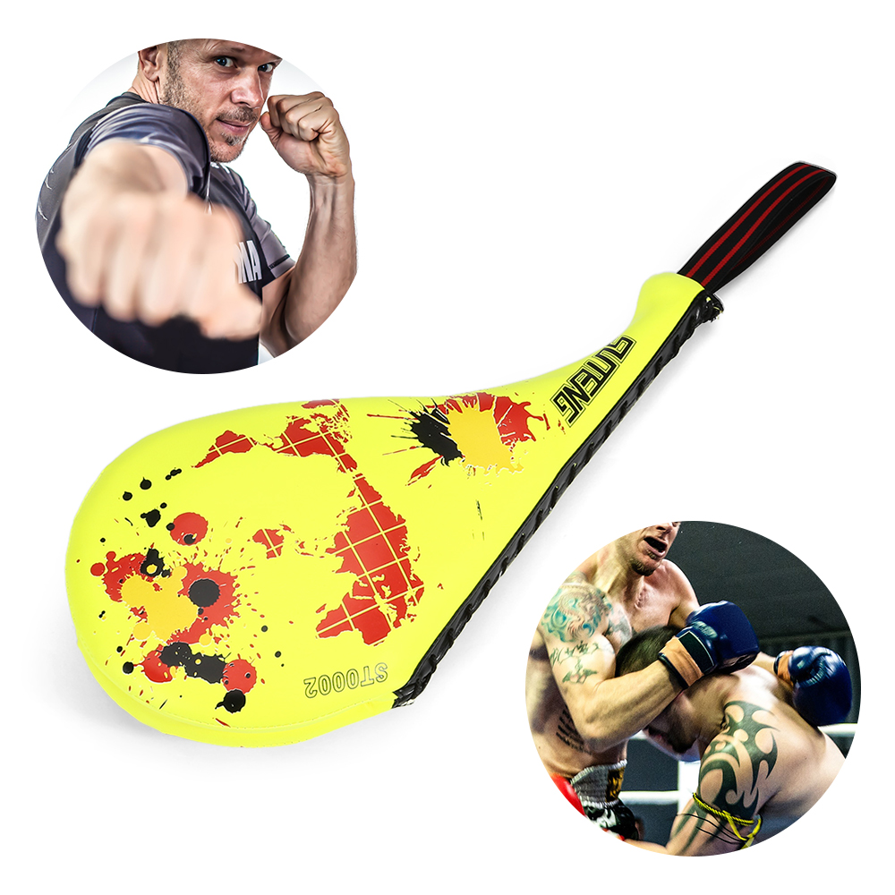 SUTENG ST0002 Map Pattern Double Side Boxing Kicking Target For Tae Kwon Do Karate Kickboxing Training