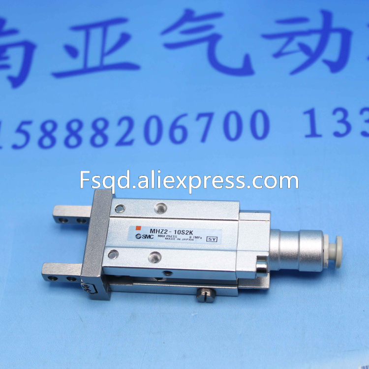 MHZ2-10S2K MHZ2-10S2M SMC  standard type cylinder parallel style air gripper  pneumatic component  MHZ series ,Have  stock mhc2 10d angular style double acting air gripper standard type smc type pneumatic finger cylinder
