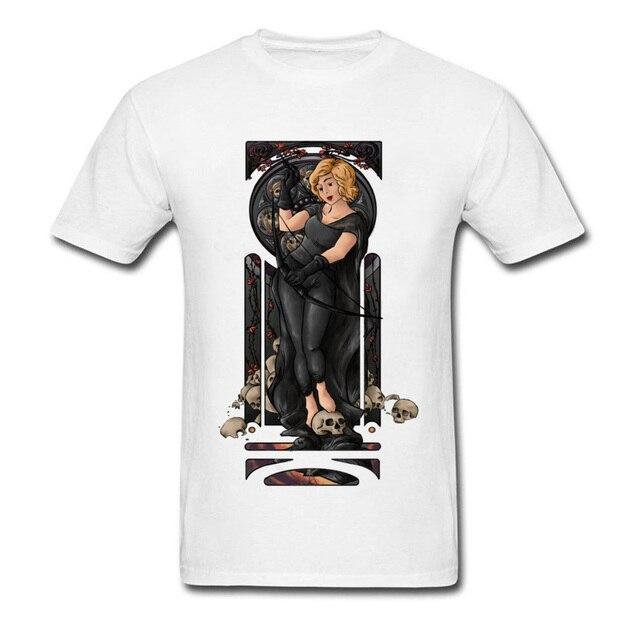 22f5e936dbf2 Femme Fatale Custom Summer Autumn Cotton Round Neck Men Tees Street Tee- Shirts Fitted Short Sleeve T Shirt Drop Shipping