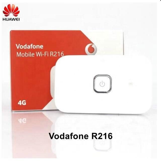 Vodafone R216 Portable 3G 4G routeur sans fil routeur WiFi 4G Mobile WiFi Hotspot Avec SIM emplacement pour cartes même que Huawei e5573