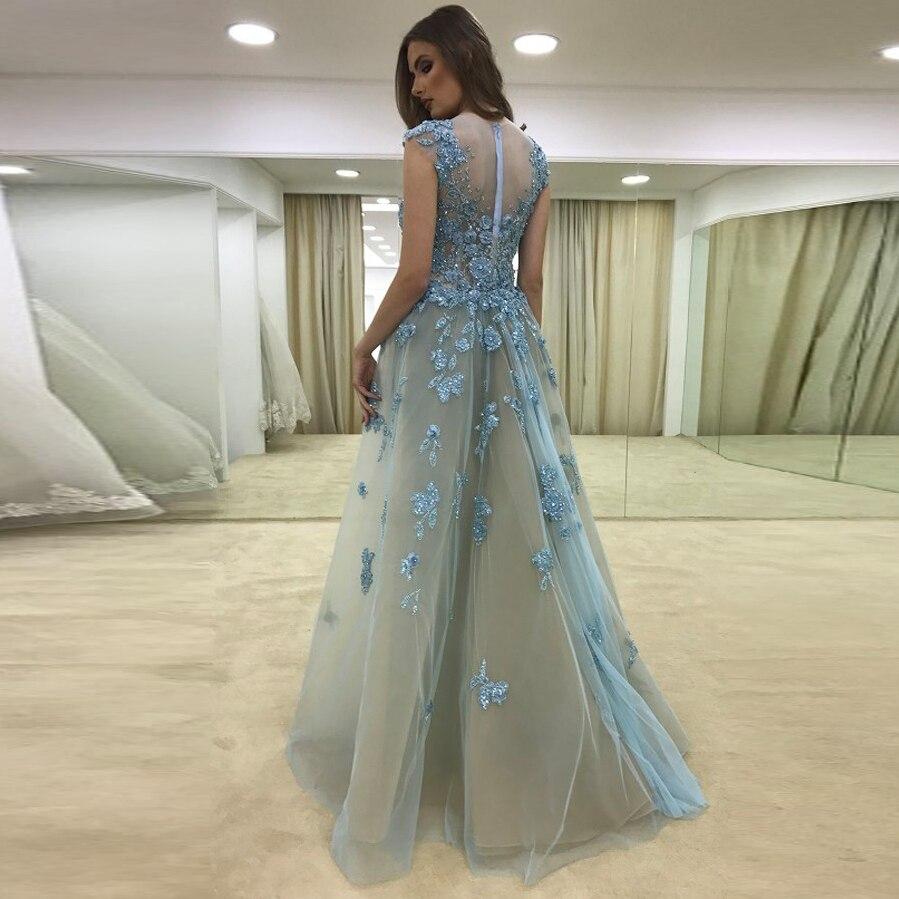 Formelle Cristal Détachable Sirène Parti Festa Saoudite Longue De Gris Appliques Perlé Robes Avec Train Abiye dXq4g0Zxwd