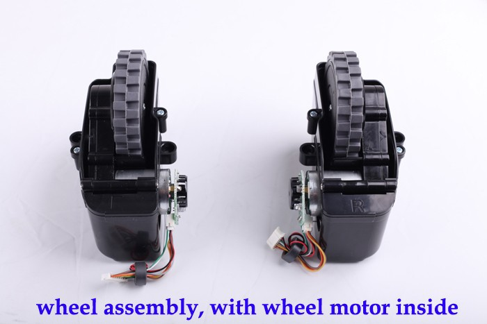 (For B2000,B3000,B2005) Left & Right Wheel for Vacuum Cleaning Robot, Includes 1*Left Wheel Assembly + 1 Right Wheel Assembly for x500 b2000 b3000 b2005 left
