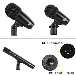 Image 5 - XTUGA NEWMI7 7 ชิ้นแบบใช้สายแบบไดนามิกกลองชุด (โลหะทั้งหมด) KICK Bass,TOM/Snare & Cymbals ชุดไมโครโฟนสำหรับกลอง,เสียง