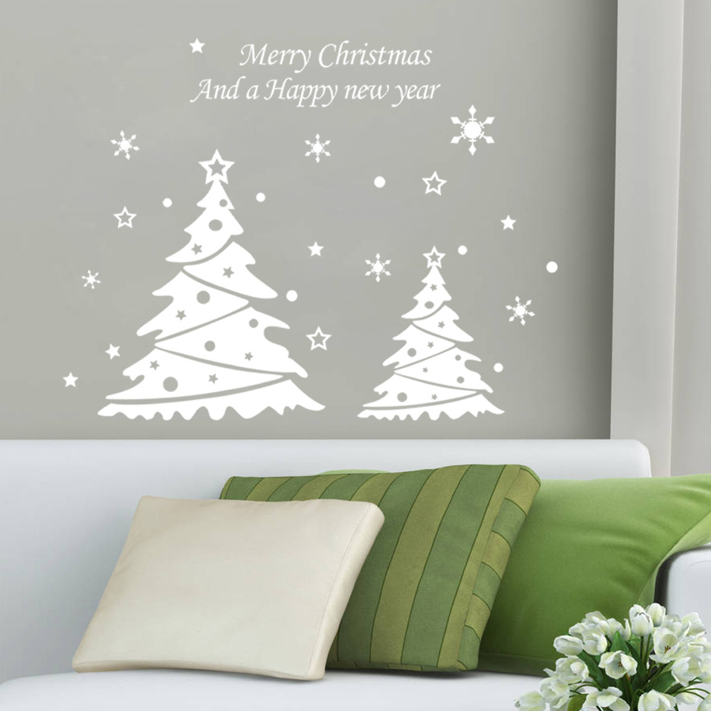 Liamaria Christmas Tree Wall Decoration : Aliexpress buy new arrival christmas tree pvc