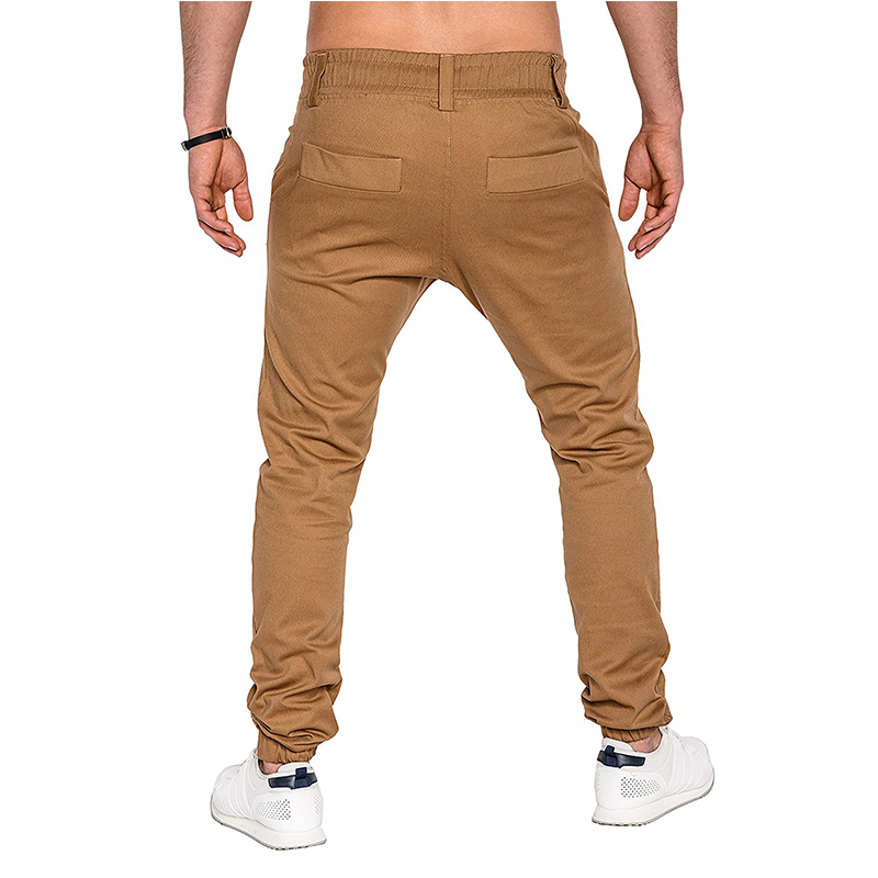 New Fashion Joggers 2019 Autumn Brand Slim Straight Men Casual Pants Man Trousers Khaki Joggers Sweatpants 3XL in Skinny Pants from Men 39 s Clothing
