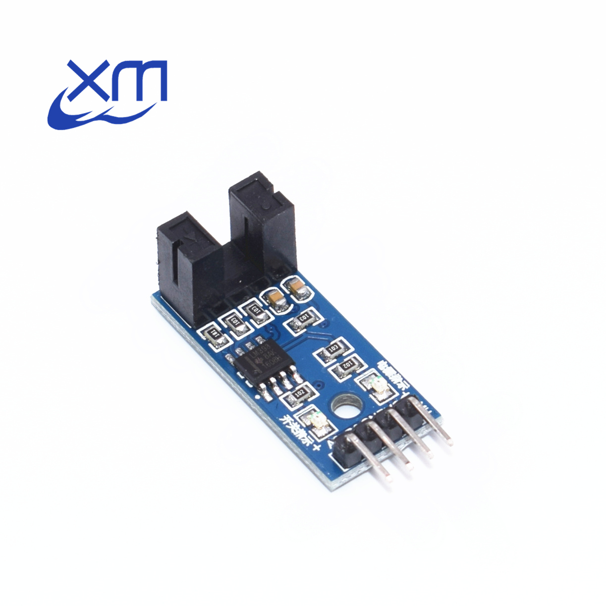 1pcs IR Infrared Slotted Optical Speed Measuring Sensor Optocoupler Module For Motor Test I32