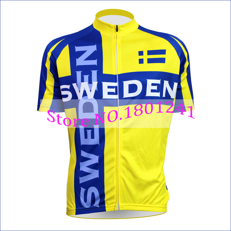 0d77ad3e0 ... Aliexpress.com Buy Customized 2017 cycling jersey yellow Sweden team  clothing pro team bike wear 2016-2017 Sweden Adidas Euro ...