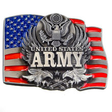 custom belt buckles wholesale low price usa army Belt Buckle cheap Eagle High quality for men