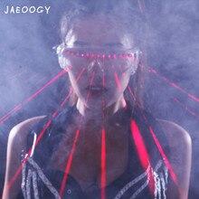 2019 новые модные креативные красные лазерные очки вечерние день рождения светящиеся лазерные очки бар реквизит для представления