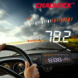 Image 2 - Original X5 HUD Head Up Display Car HUD Head Up Display Car Styling Speed Alarm OBD II Head up Display OBD2 Interface CHADWICK