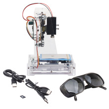 NEJE JZ-6 250 МВт Мини Принтер Лазерный Гравер Резчик Авто Гравировальный Станок S6R4 DIY Гравер С Лазерной Защитные Очки