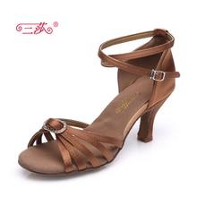 Sasha direct selling professional High Quality Salsa Tango rhinestone Ballroom Latin Dance Shoes women Four color choices 315