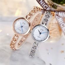 2019 New Fashion Watch Women Luxury Brand JW Bracelet Wrist Watches For Ladies Rose Gold Quartz Watch Clock relogio feminino недорого