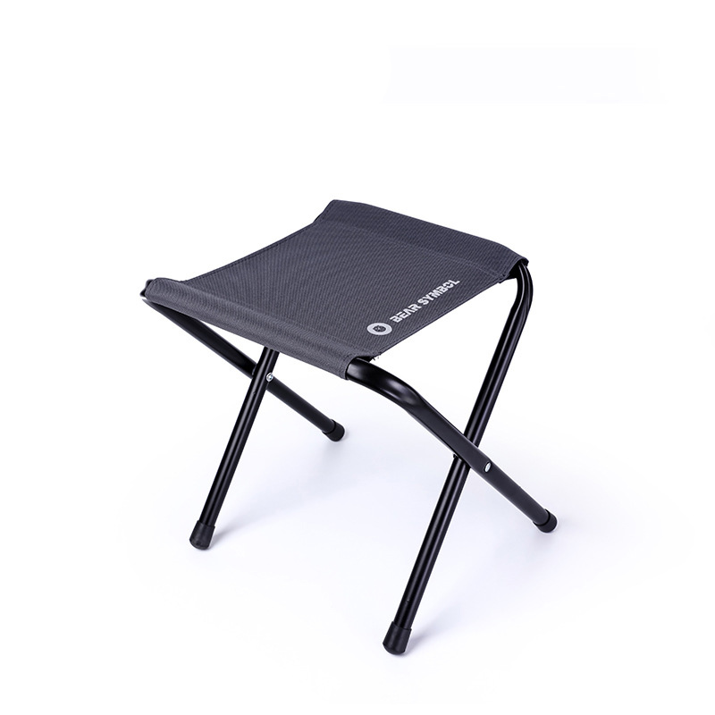 Beach Chairs Lightweight Garden Chairs Outdoor Portable Fishing Folding Camping Chair 7075 Al Train Travelling Ultralight Black Small Seat A Complete Range Of Specifications Furniture