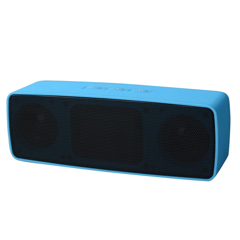 New Bluetooth Portable Speaker Wireless Bass Stereo for Tablet Rechargeable, Blue