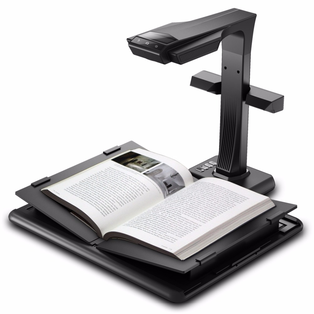 Professional high speed overhead full A3/A4 V-SHAPE Cradle book scanner and document scanning platform/Scanner & Visualiser writing