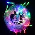 10 M 50 Fada luz Led string casamento Twinkle Decoração de natal garland para home holiday party Luzes da lâmpada ao ar livre 220 V 110 V