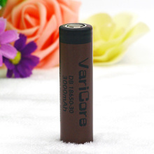 1pcs.VariCore DB 18650-30 original 3000mAh 3.6V lithium 18650 20A continuous discharge dedicated to electronic cigarette battery