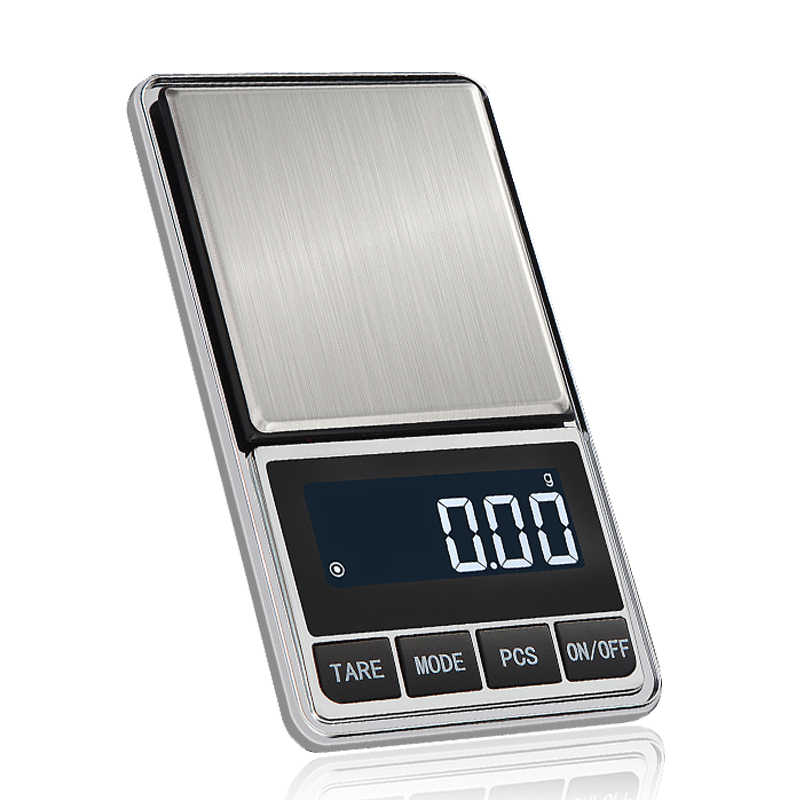 High Precision Mini Jewelry scale balance gram scale for Gold Bijoux Silver Diamond pocket Kitchen Weight electronic scale