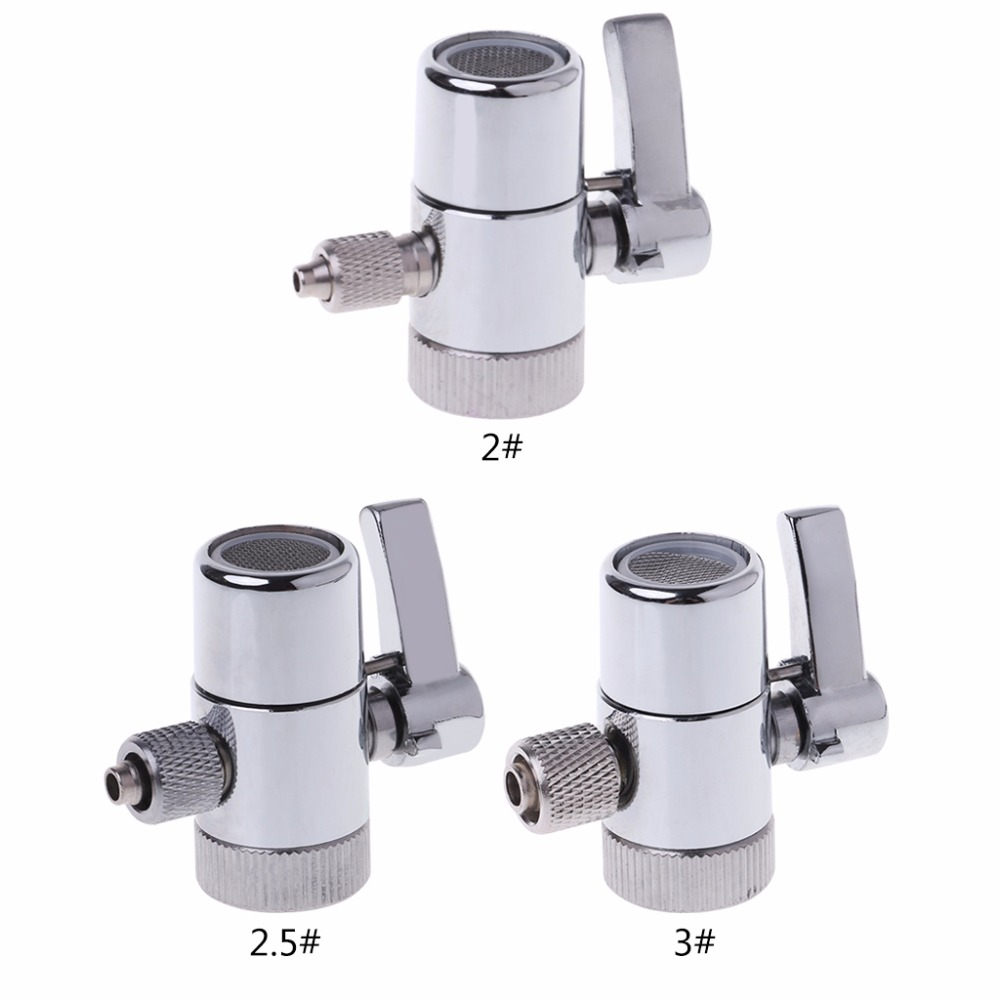 Water Filter Faucet Diverter Valve Ro System 1/4