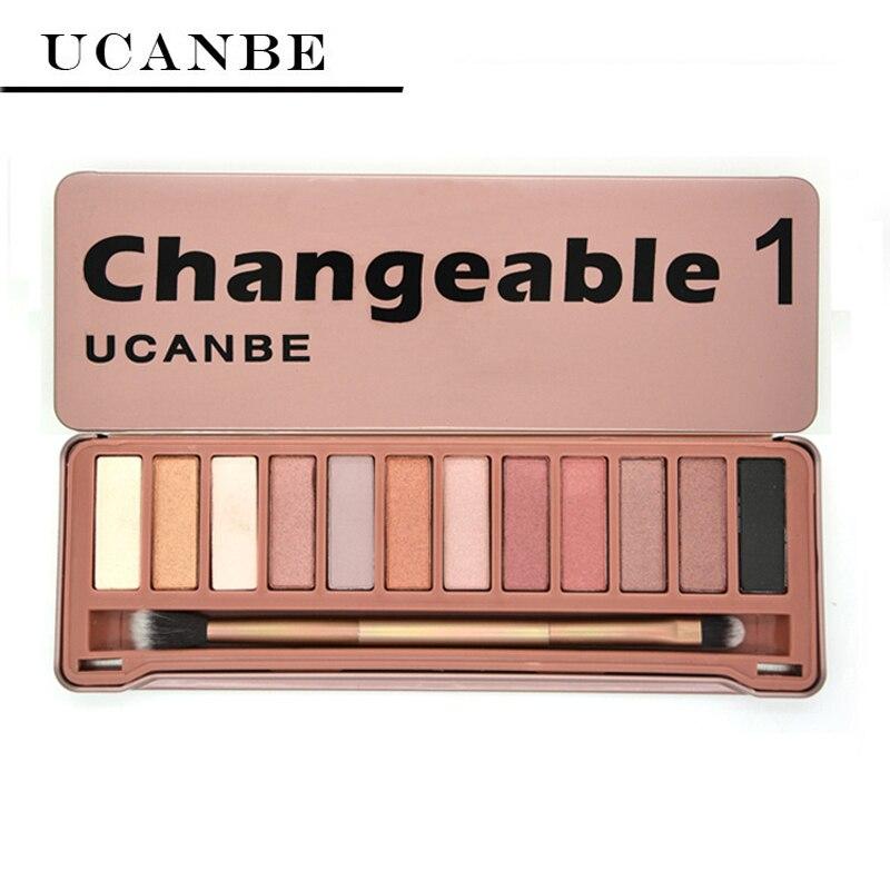 Ucanbe Brand Naked Eye Shadow Makeup New Changeble 1 -5380
