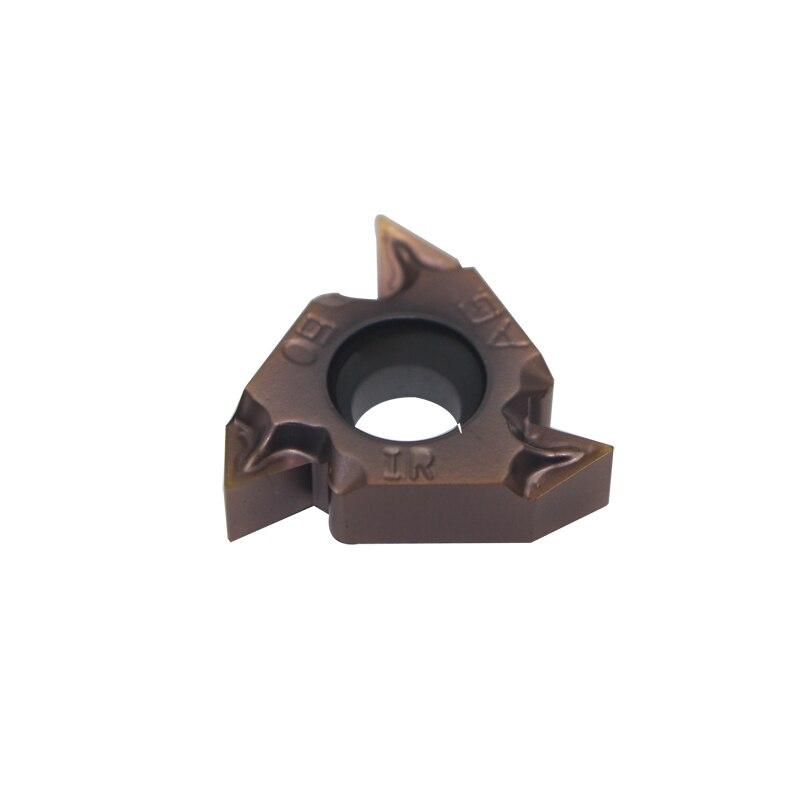 20 stücke 16IRM AG 60 LF6018 feine schleifen CNC klinge interne gewinde cutter drehmaschine zubehör