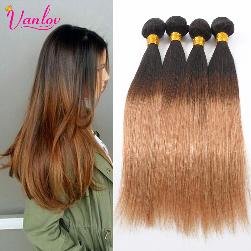 Malaysian Virgin Hair Straight Ombre Human Hair Weave 3 Bundles 1B/27 Ombre Weave Malaysian Straight Ombre Hair Extension 2 Tone защитная плёнка для explay light party глянцевая explay