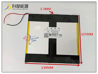 3 7V 8000mAH SD 37125130 Polymer Lithium Ion Li Ion Battery For Tablet Pc Onda Cube