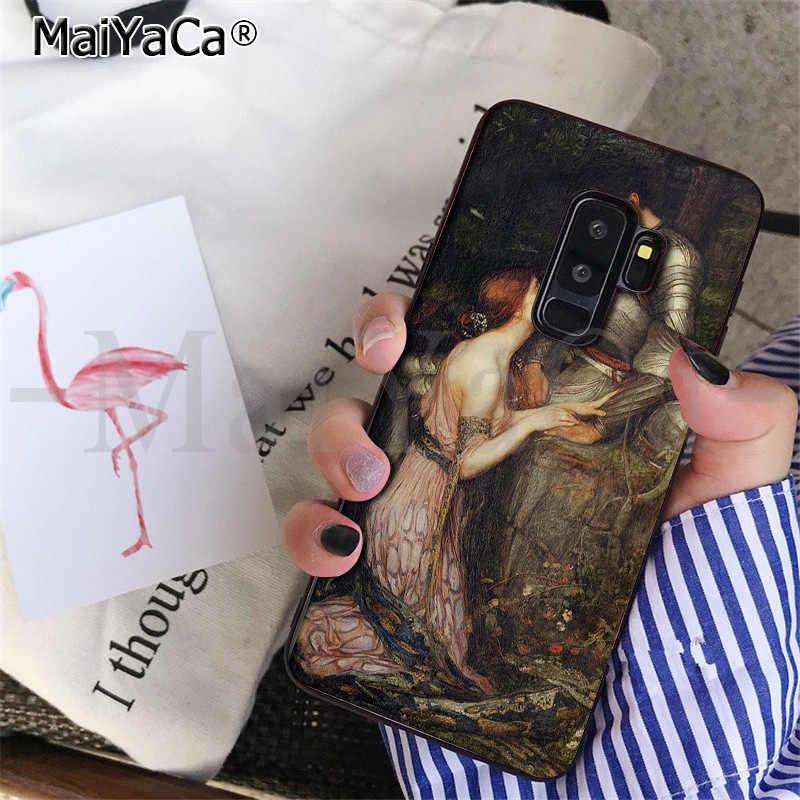 MaiYaCa арт Картины на Рождение Венеры изготовленный на заказ мягкий чехол для мобильного телефона для samsung S9 S9 плюс S5 S6 S6edge S6plus S7 S7edge S8 S8plus