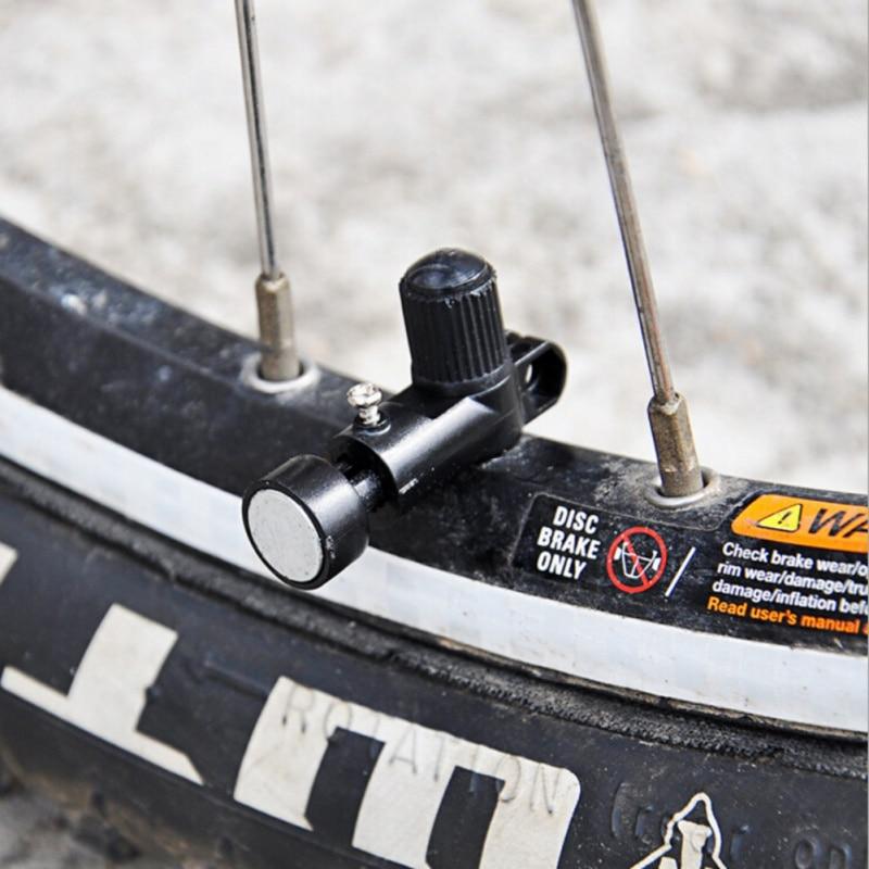 Code Table Magnet Head Universal Bicycle Speedometer  Plastic Metal Retractable Portable Bike Wheel Speed Measurement Tool