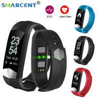 CD01 Smartband ECG Bluetooth Sport Intelligente wristband Banda Intelligente di pressione Sanguigna HR inseguitore Palestra Braccialetto Intelligente Per IOS Android