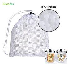 Осаждения Sous Vide варочные шары BPA бесплатно 20 мм 200 шары с сеткой мешок для сушки для водяной ванны Sous Vide приготовление пищи