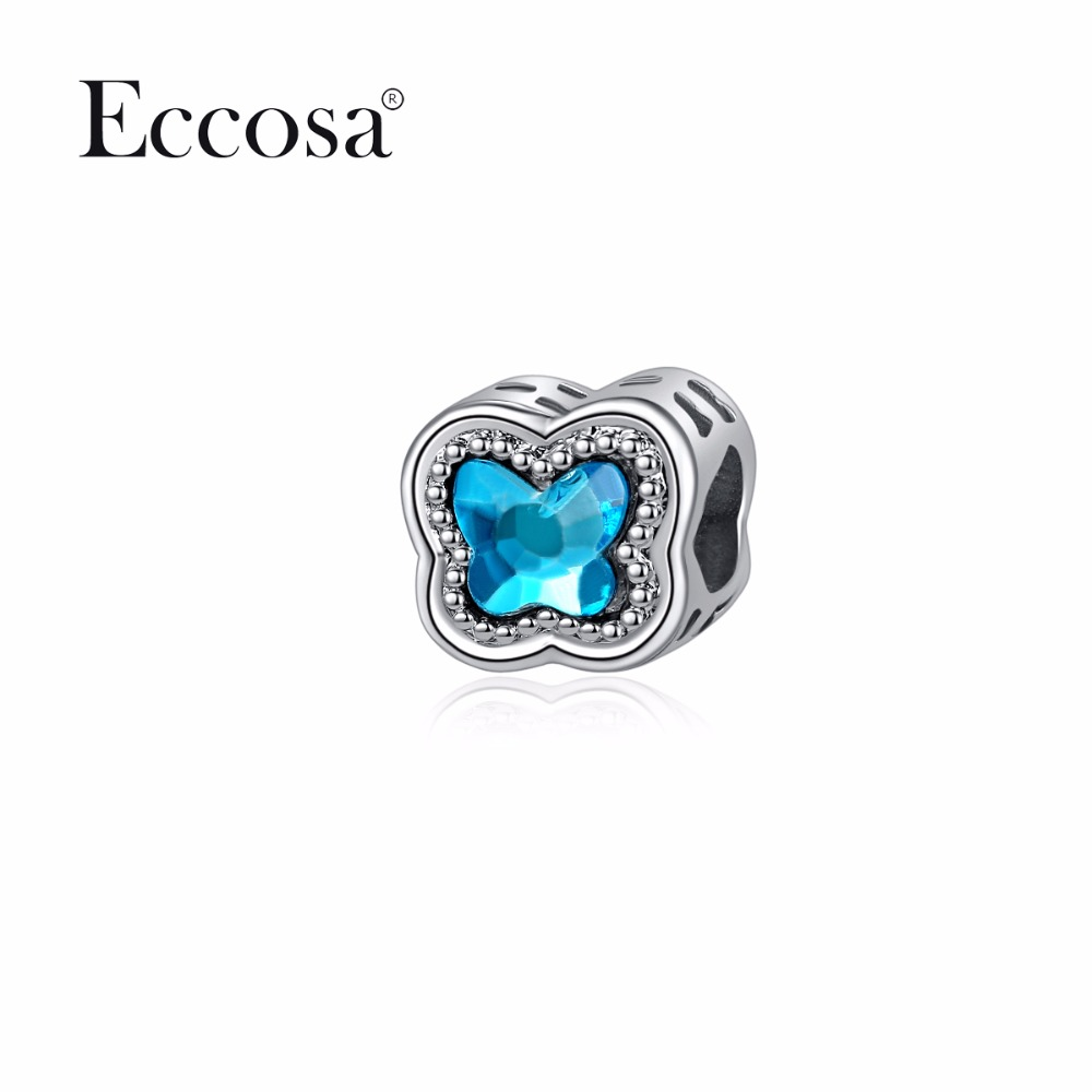 Eccosa New Design Silver Color Beads For Jewelry Making