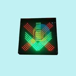 Facilità di installazione high way stazione di pedaggio 600mm rosso verde semaforo led per la promozione