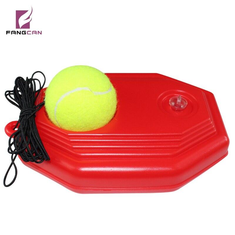 1 kos FANGCAN pripomoček za teniški tečaj klasični slog visoko gostota PE pomoč za samostojni trening, trpežna teniška žoga z vrvico