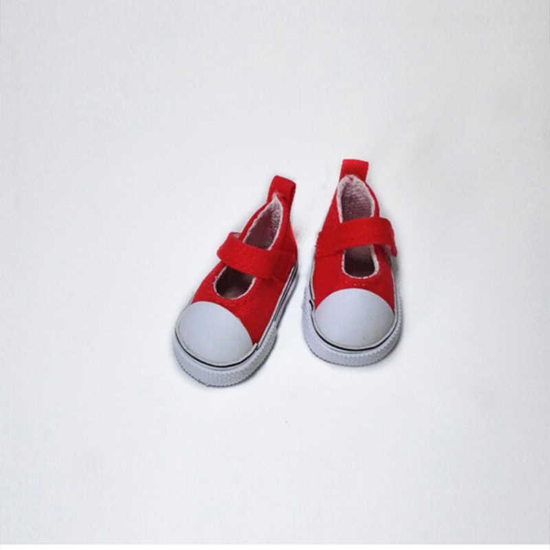 13 estilos Boneca Acessórios Cores Sortidas Sapatos Sapatas de Lona Para 1/4 BJD Doll & Mini Boneca & 16 Polegada Sharon botas boneca