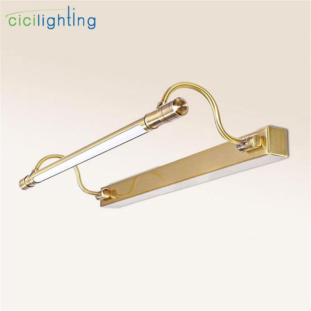 100V - 240V 6W 48cm LED retro lampu meja lampu minimalis bilik mandi - Pencahayaan dalaman
