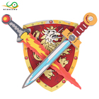 MYHOESWD Cool Weapon Toy Swords Shield Soft EVA Foam Toy Sword For Children Kids Cosplay Toys Parent-child Interaction Game Toys