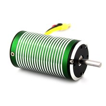 XTI-3665 3190 3580 3190 2680 2300 KV 5mm Brushless Sensorless Motor for 1:8 RC Off-road Car Buggy Bigfoot/650-800mm Boat Ship skyrc bma 01 brushless motor analyzer tester rpm kv voltage timing noise amp hall checker motolyzer for rc car part with lcd