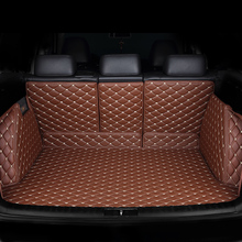 HeXinYan Custom car trunk mat for Land Rover all models discoverer 4 5 Discovery Sport Evoque Range sport Freelander